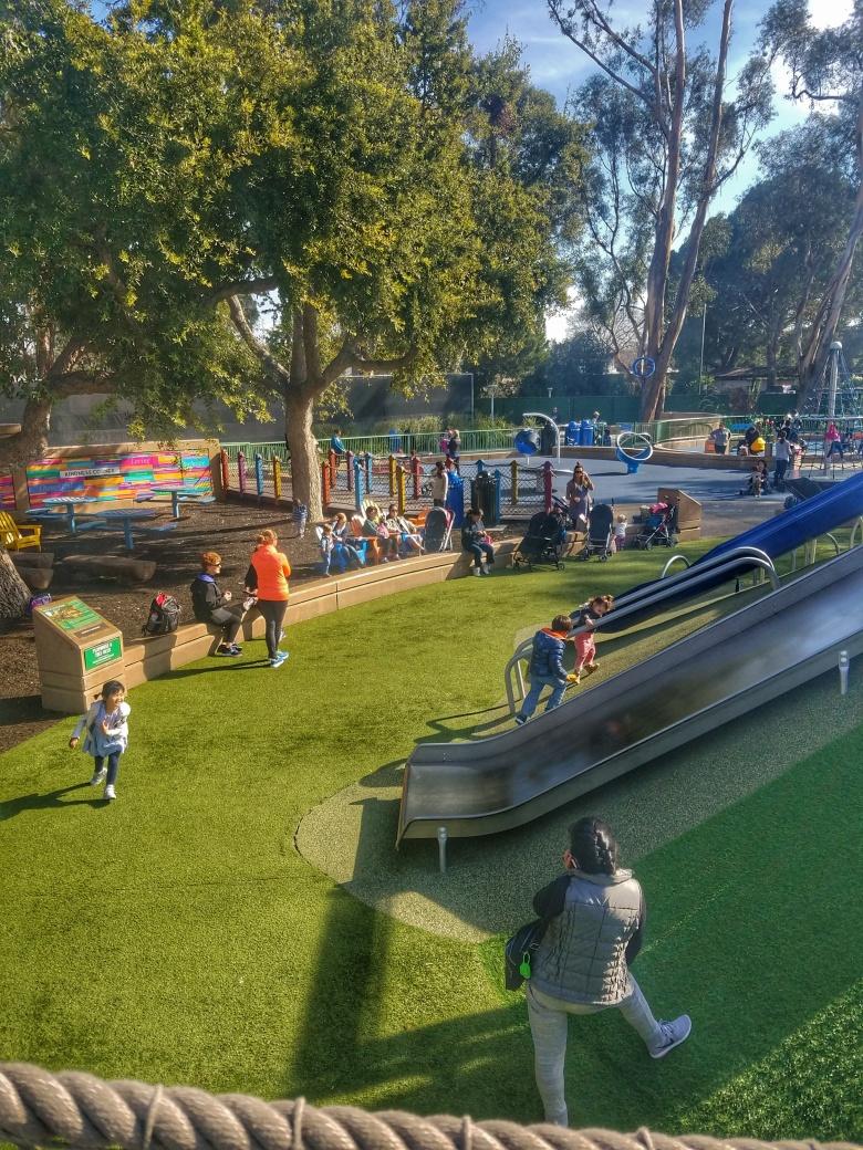 Slide Mound at Magical Bridge Playground