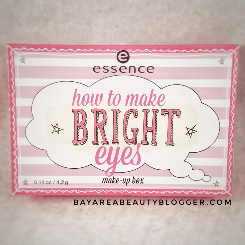 essence How to make Bright Eyes Make-Up Box