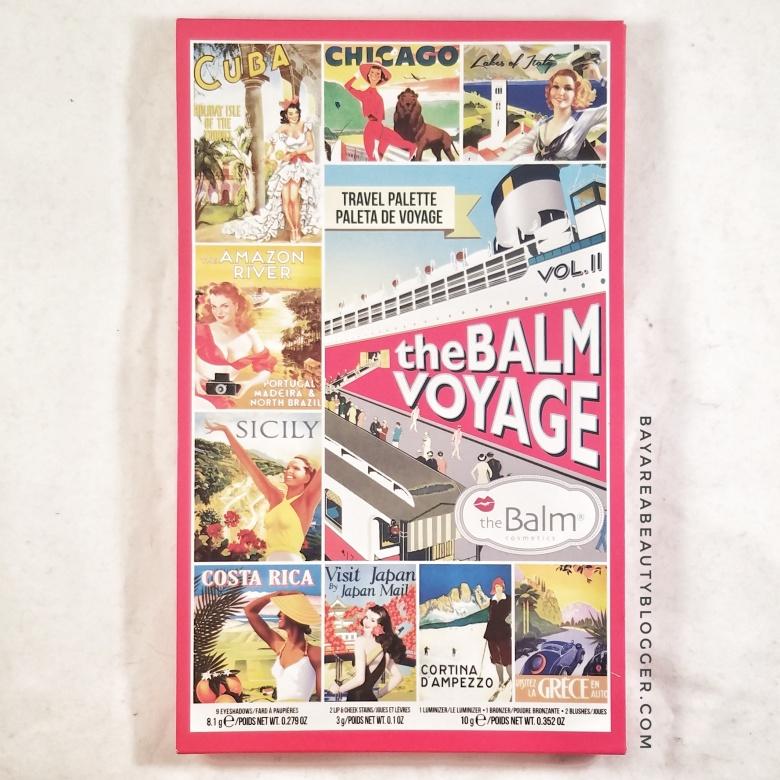 theBalm Voyage Vol.II Travel Palette