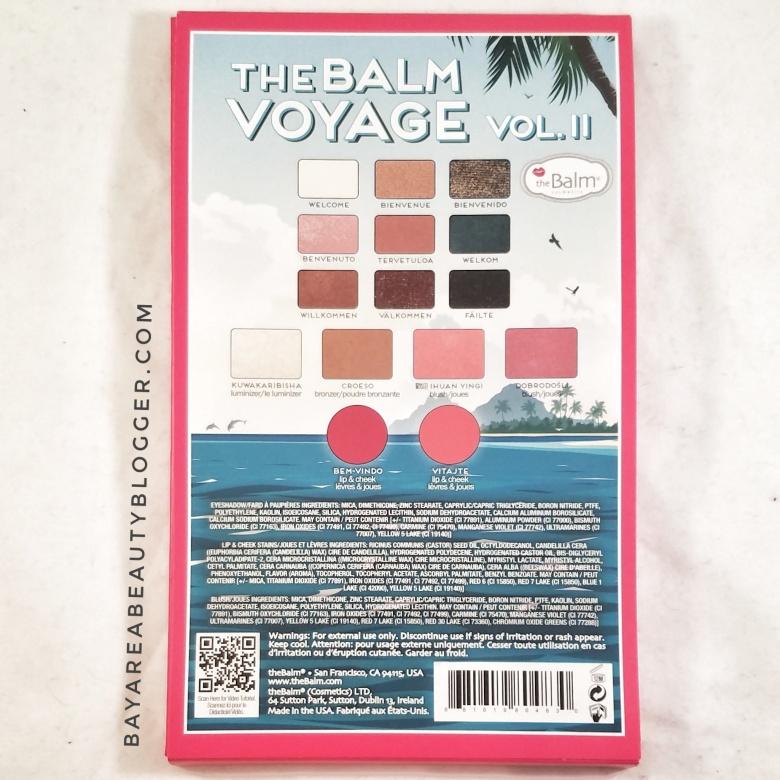theBalm Voyage Vol. II Packaging