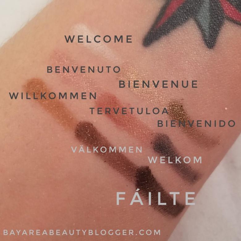 theBalm Eyeshadow Swatches