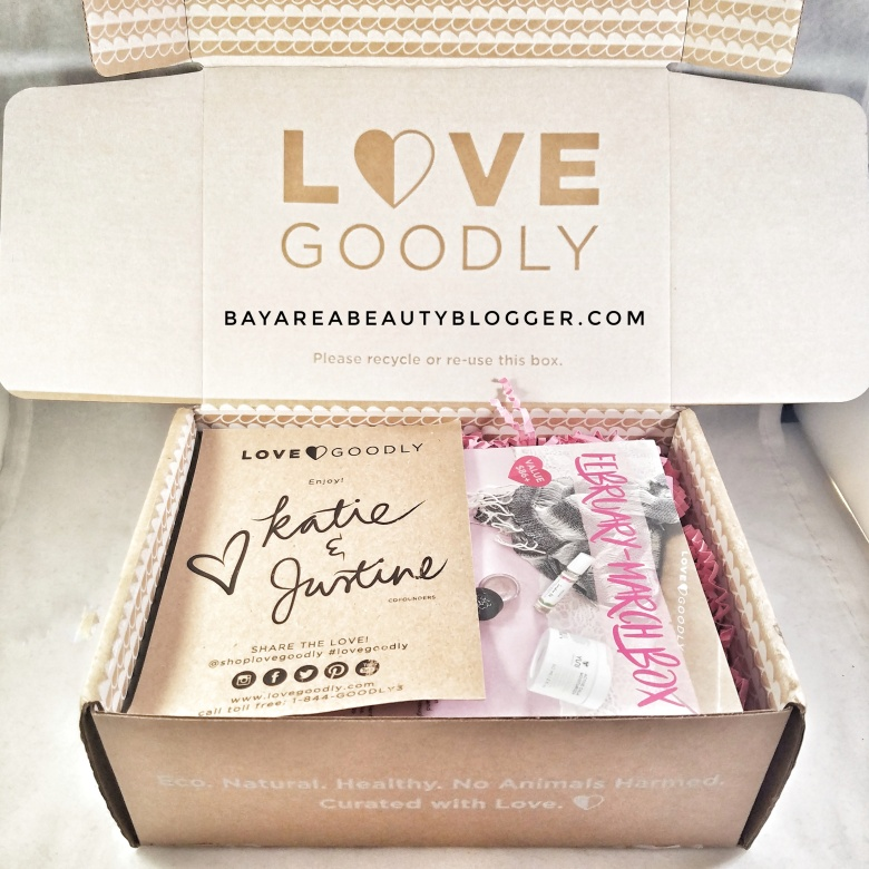 Love Goodly February March 2017 Box Review and Coupon Code
