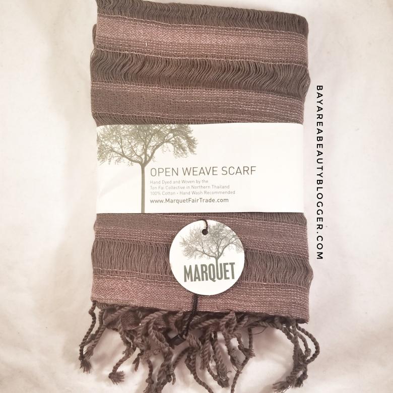 Marquet Open Weave Fair Trade Scarf