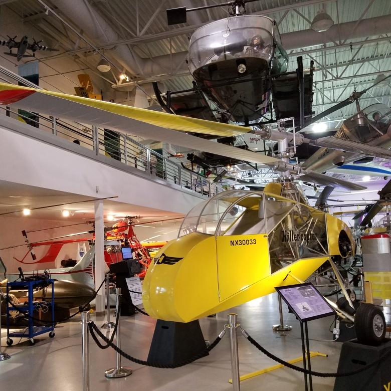 Hiller Helicopter at the Hiller Aviation Museum