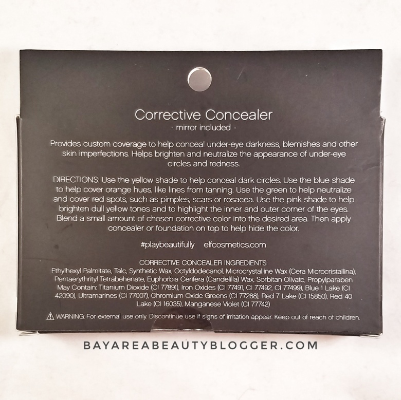Corrective Concealer Palette with Mirror