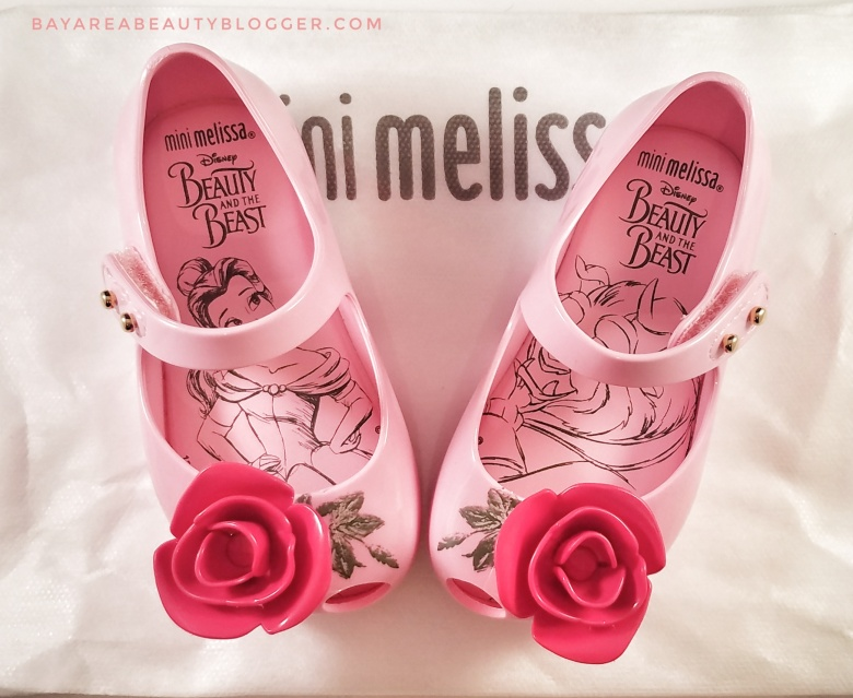 Mini Melissa Disney Beauty and the Beast Shoes
