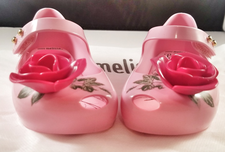PVC Shoes with Fruit Scent by Mini Melissa