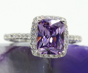 Cheap Amethyst Ring on TopHatter.com