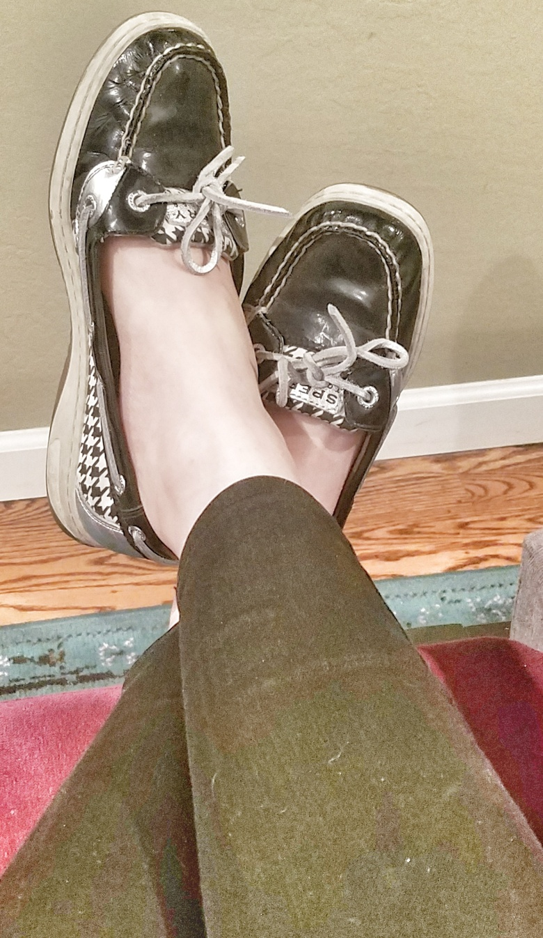 Houndstooth Sperry Topsiders