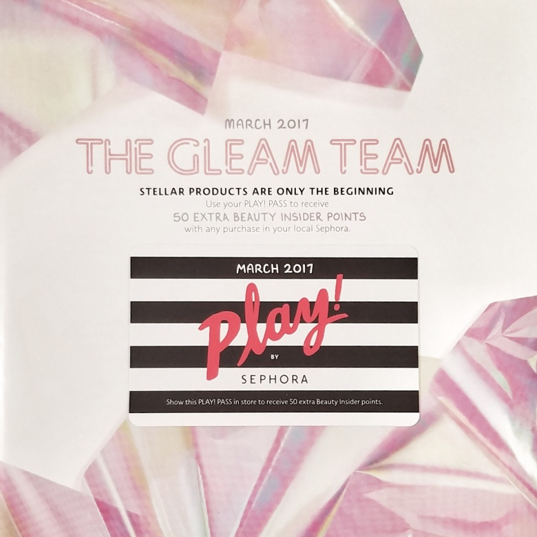 Play! by Sephora $10 Monthly Subscription Box