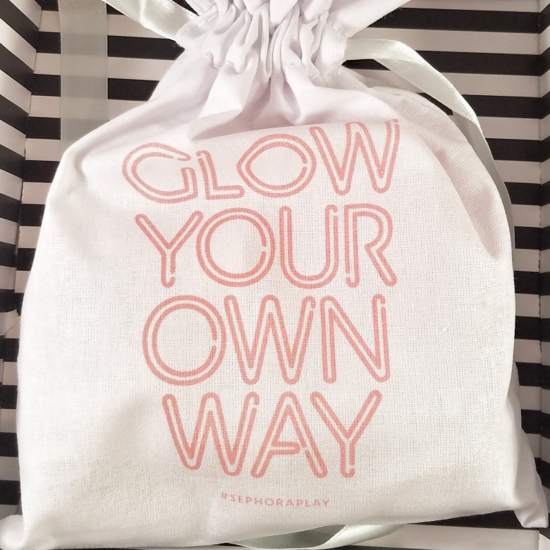 Sephora Play March 2017 Glow Your Own Way Bag