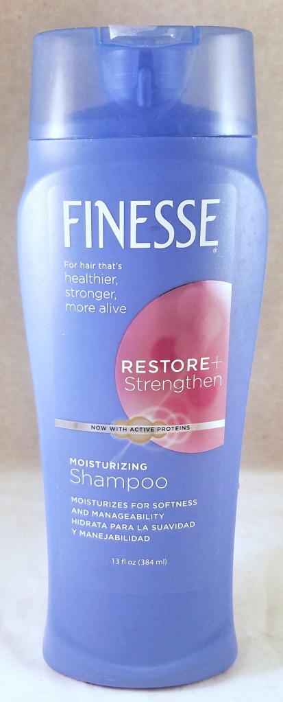 Finesse Restore and Strengthen Shampoo Blog Review