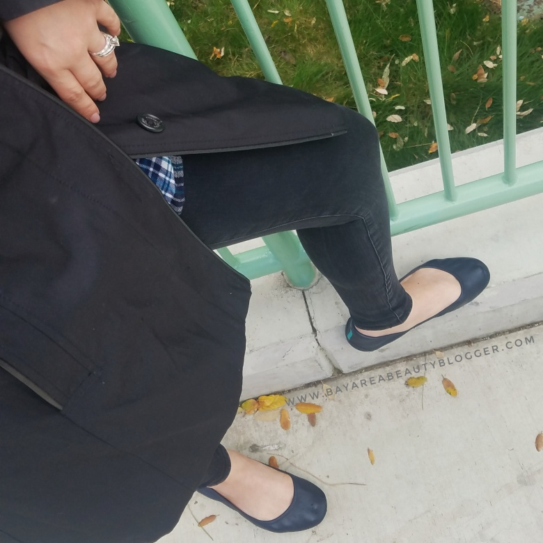 Madewell Jeans with Navy Blue Tieks
