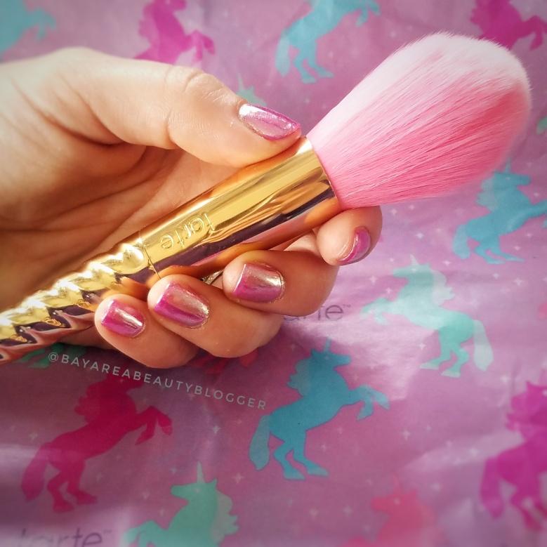 tarte Pink Powder Brush