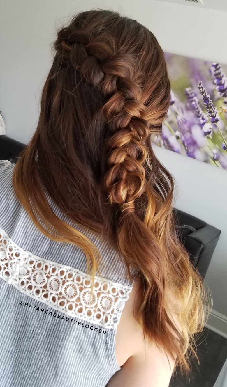 Bridesmaid Hair Half Up
