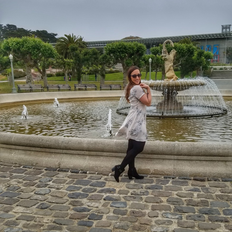 Outfit of the Day at Golden Gate Park