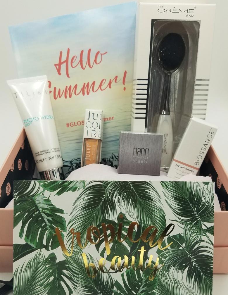 Hello Summer June GlossyBox